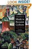 The Cambridge Companion to Modern Russian Culture (Cambridge Companions to Culture)
