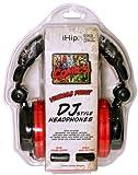 iHip MVF10264RT-NEW Marvel Retro Extreme DJ Headphone Red/Black