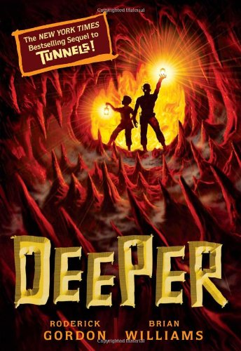 Cover of Deeper (Tunnels Book 2)