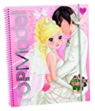 top livre de coloriage modle de mariage /top model wedding colouring book