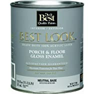 - W39T00904-14 Best Look Heavy-Duty Acrylic Latex Gloss Floor Enamel