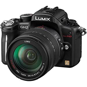 Panasonic Lumix DMC-GH2 16.05 MP Live MOS Interchangeable Lens Camera with 3-inch Free-Angle Touch Screen LCD and 14-140mm HD Hybrid Lens (Black)