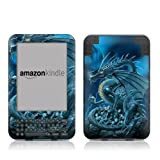 Kindle Keyboard Skin - Abolisher Dragon - High quality precision engineered removable adhesive vinyl skin for the 3G + Wi-Fi 6
