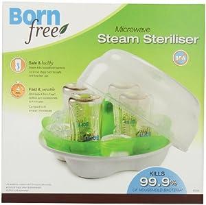 Born Free 微波蒸汽奶瓶除菌器,$22.89