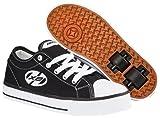 Heelys Jazzy childrens wheel skating shoes black size 2 UK