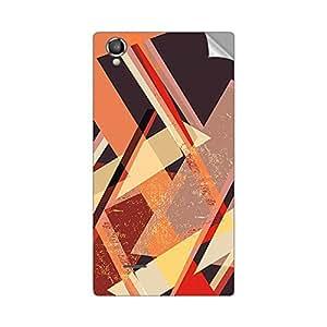 Garmor Designer Mobile Skin Sticker For XOLO A550S IPS - Mobile Sticker