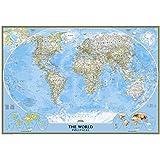 World Classic Wall Map (Laminated)
