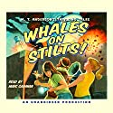 Whales on Stilts! Audiobook by M.T. Anderson Narrated by Marc Cashman