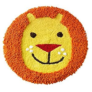 "Jumping Beans Safari Tufted Lion Bath Rug (24"" Round) from Kohls"