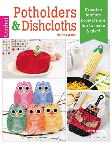 Quick and Easy Christmas Gifts to Make - Knitting, Crochet and Craft Patterns Crochet Potholders & Dishcloths