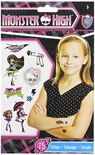 Monster High Temporary Tattoos - 75