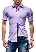 BOLF - Chemise casual - à manches courtes - MODELY HCT - Homme