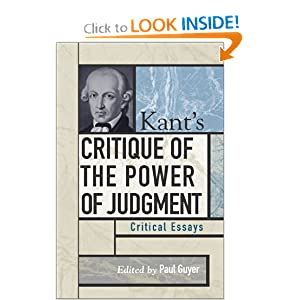 kants critique of the power of judgment critical essays on fahrenheit