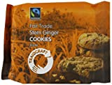 Traidcraft Stem Ginger Cookies 44 g (Pack of 12)
