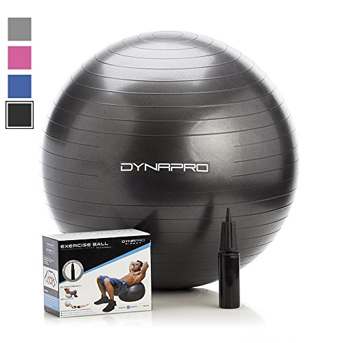 exercise-ball-with-pump-gym-quality-anti-burst-anti-slip-black-75-centimeters-fitness-ball-by-dynapr