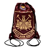 West Ham Unisex Foil Print Gym Bag, Multi-Colour