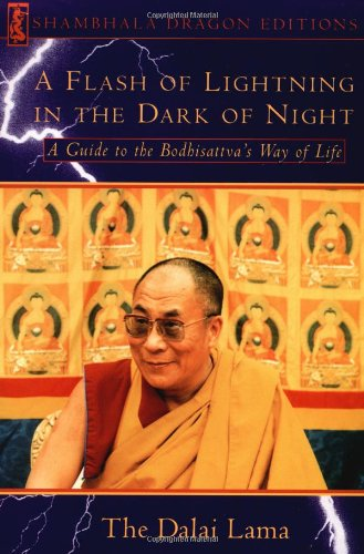 A Flash of Lightning in the Dark of Night: A Guide to the Bodhisattva's Way of Life (Shambhala Dragon Editions)