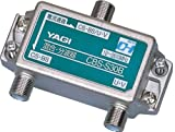 YAGI 屋内用CS・BS/U・V分波器入出力F型 CBS-S30B-B