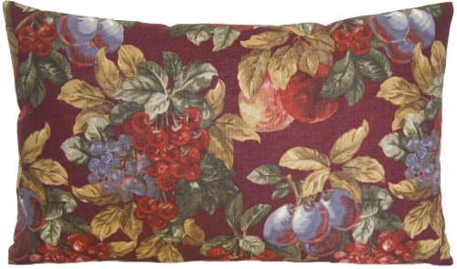 Vintage Country Style Pillow Cover Ralph Lauren Bountiful Harvest Floral Rectangular