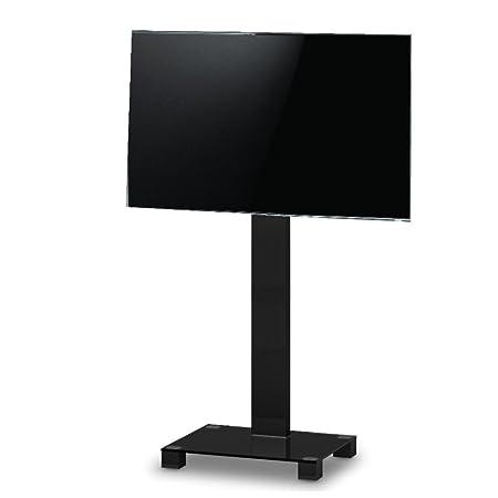 Sonorous PR 2550NN–TV-Ständer. Höhe 180cm. Glas schwarz/Gestell schwarz.