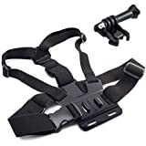 EEEKit 3-in-1 Chest Mount Harness For GoPro Hero 3/2/1 HD Camera Adjustable Body Chest Strap Mount Belt + Surface...
