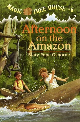 Afternoon on the Amazon  (Magic Tree House, No. 6) (A Stepping Stone Book(TM))
