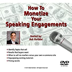 How to Monetize Your Speaking Engagements