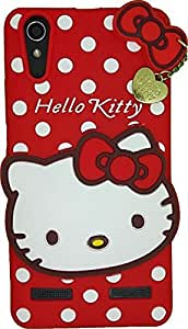 Meephone Hello Kitty Back Cover Lenovo A6000 Red