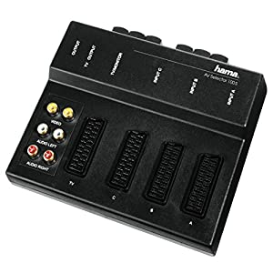 hama scart switch box av 100s computers accessories. Black Bedroom Furniture Sets. Home Design Ideas