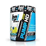 BPI Sports Pump HD Pre-Training Power and Energy Fuel Powder, Blueberry Lemon Freeze, 8.8 Ounce by BPI Sports