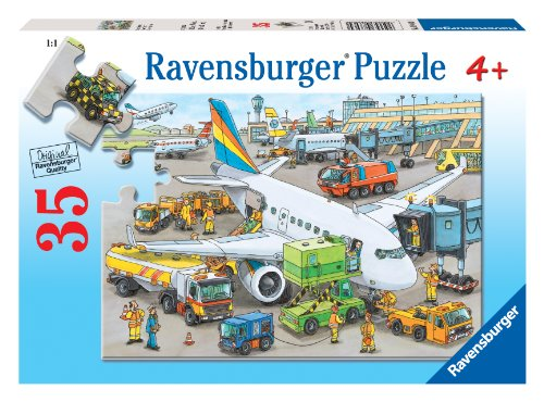Ravensburger Busy Airport - 35 Piece Puzzle