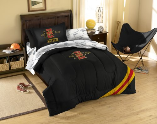 Ncaa San Diego State Bed In A Bag Set Size: Twin