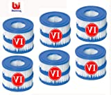 6 x Twin Pack Bestway Filter Cartridges size VI item number 58239 for new model Lay-z-spa