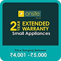 Onsite Secure 2 Year Extended Warranty for Small Appliances (Rs 4001 - 5000)