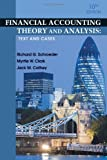 img - for Financial Accounting Theory and Analysis: Text and Cases book / textbook / text book