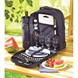 Search : All In One Picnic Travel Backpack Plates Cutlery Set