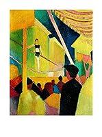 Especial Arte Lienzo Circo - Macke August Multicolor