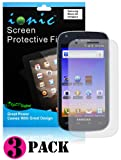 CrazyOnDigital Screen Protector Film Matte (Anti-Glare) for Samsung Galaxy S Blaze 4G T769 (3-pack)