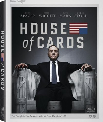 House of Cards: The Complete First Season [Blu-ray] [Import]