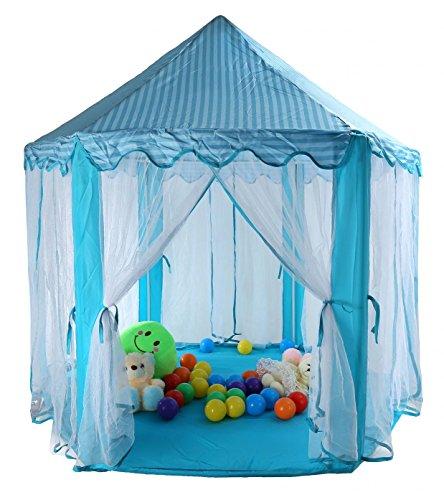 TIENO Kids Play Tent DIY 55u2033x 53u2033 Princess Castle for Child Summer Fun  sc 1 st  Epic Kids Toys & TIENO Kids Play Tent DIY 55