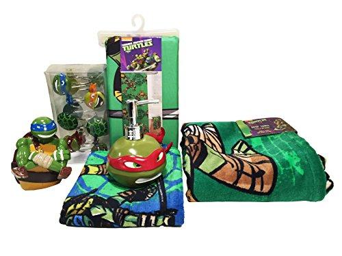 Turtle Bathroom Decor: Teenage Mutant Ninja Turtles Bedroom Decor