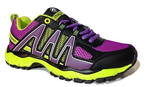 J-Hayber, Stivali da escursionismo donna Purpura-Amarillo, (Purpura-Amarillo), 39