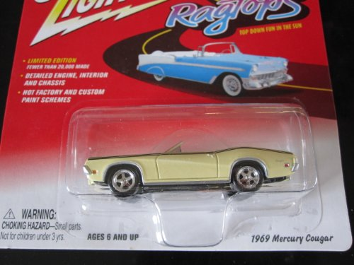 1969 Mercury Cougar Johnny Lightning Limited Edition Ragtops Series 2 - 1