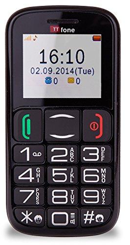 Ttfone mercury 2 telefono cellulare con tasti grandi nero - Smartphone con tasti ...