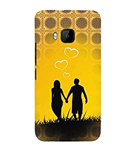 iFasho Boy Holding girls Hand Back Case Cover for HTC One M9