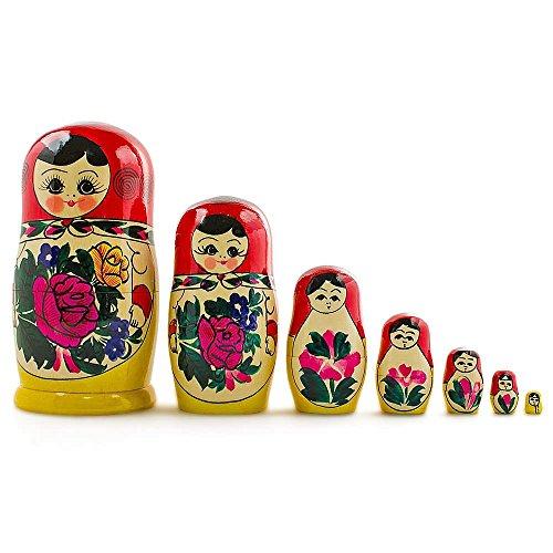 7-Pieces-7-H-Large-Semenov-Wooden-Russian-Nesting-Dolls-Matryoshka-Wood-Nested-Stacking-Dolls