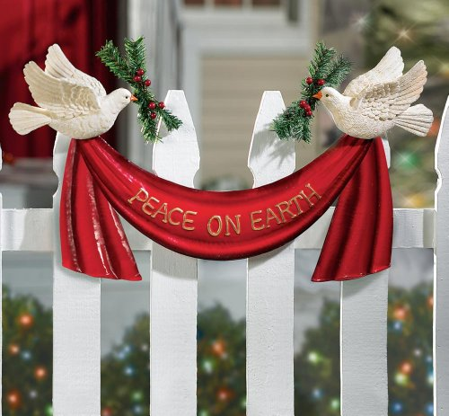 Buy christmast equipment outdoor dove christmas for Amazon christmas lawn decorations