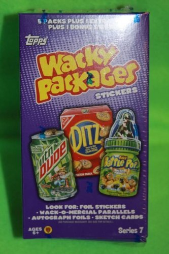Topps Wacky Packages Series 7 Sealed B4 Bonus Box - 1