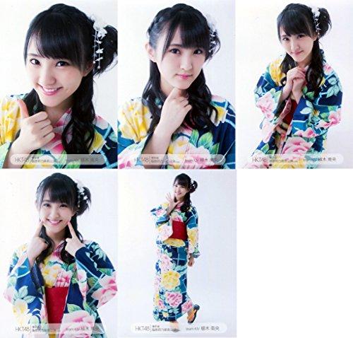 HKT48 公式生写真 博多座 指原莉乃座長公演 【植木南央】 5枚コンプ