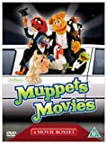 Muppets Movies: 4 Movie Boxset (The Muppet Movie / The Great Muppet Caper / The Muppets Take Manhattan / Muppets from Space) [DVD]